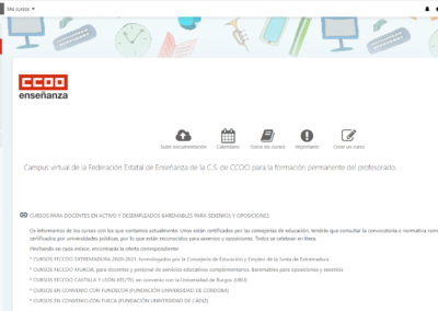 moodle comisiones
